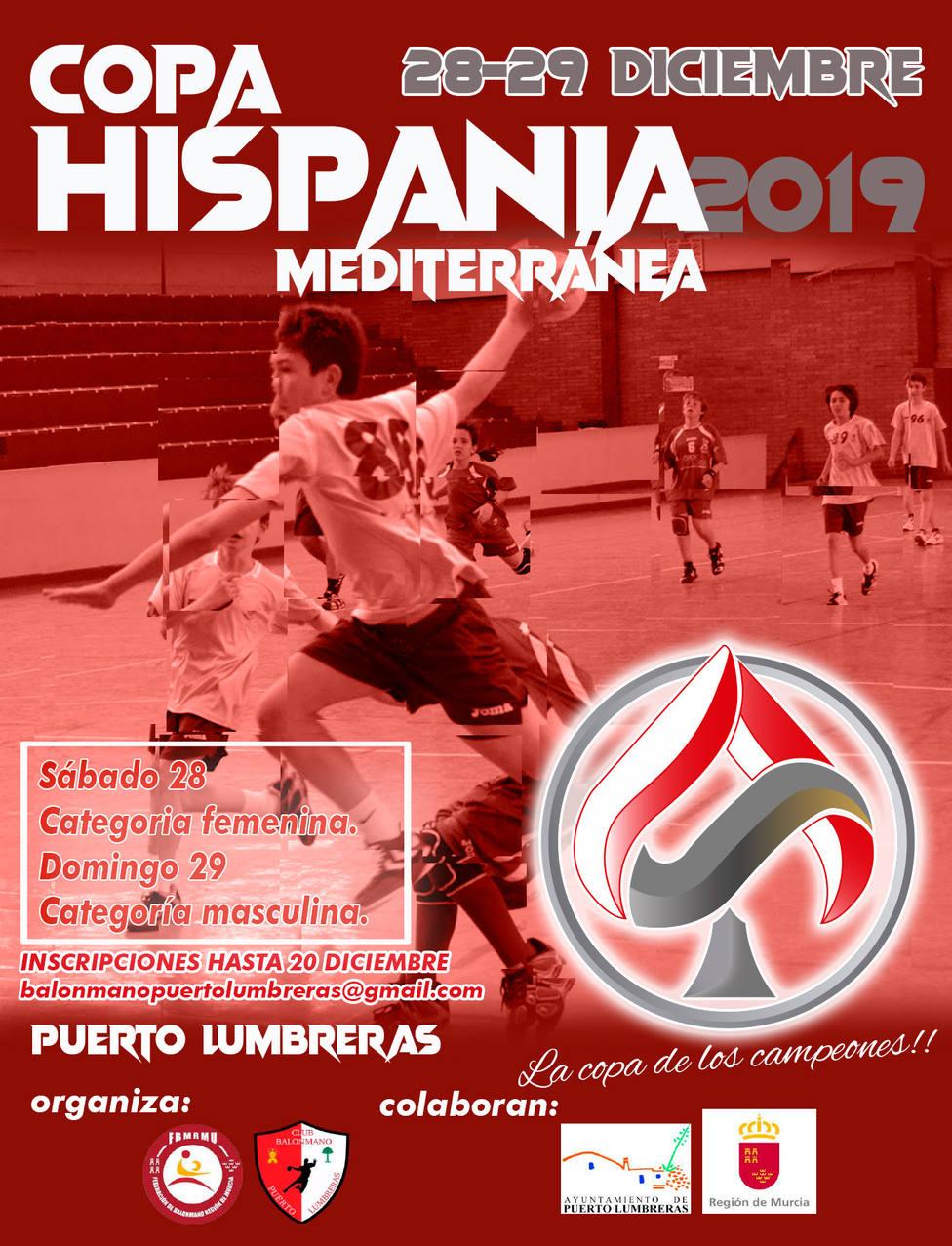 CB Puerto Lumbreras vuelve a organizar la Copa Hispania Mediterránea