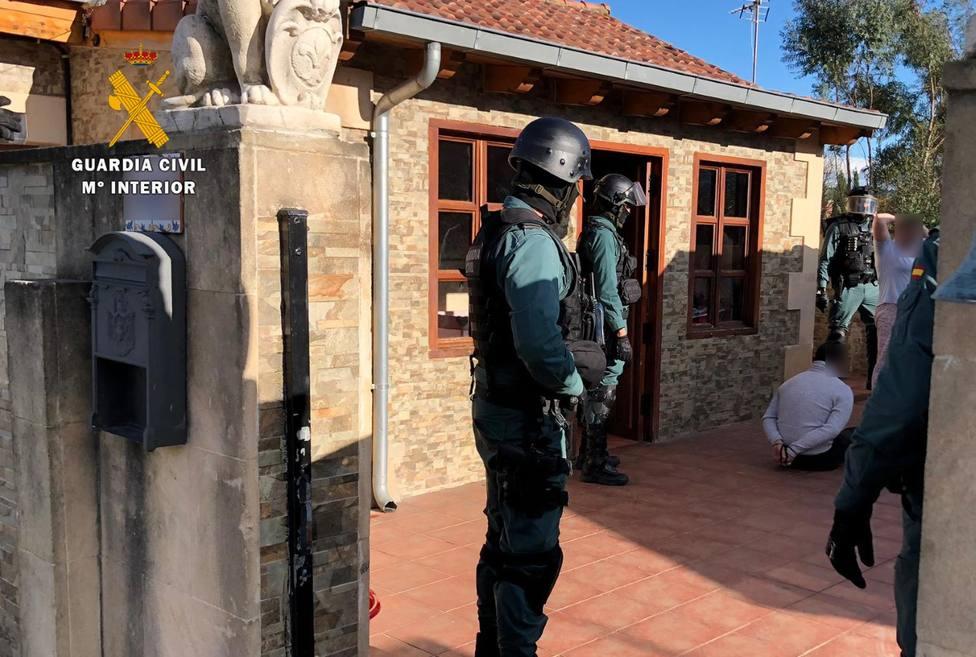 La Guardia Civil detiene a 69 personas en la la operación Gaitera