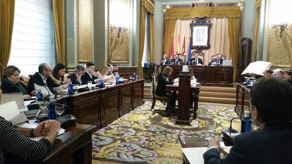 Pleno de la Diputación Provincial de Albacete