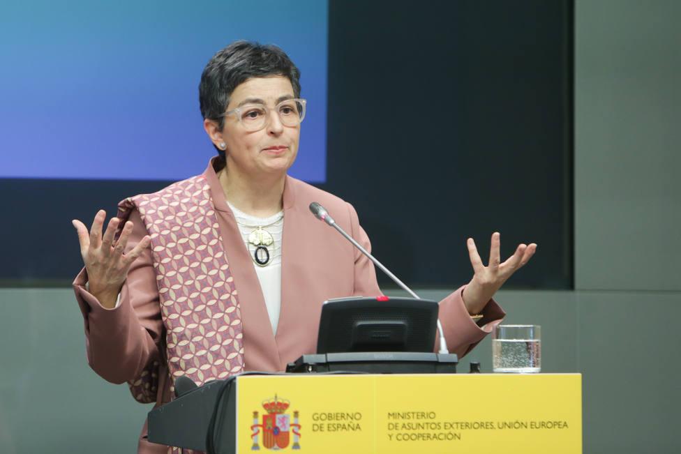 González Laya apuesta por el pragmatismo con Gibraltar y no se cierra a una zona con libertad de movimiento, según FT