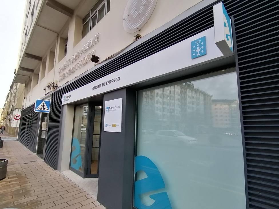 Nueva Oficina de empleo de la Xunta, en la avenida de Vigo de Ferrol