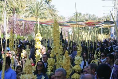 Procesión de Domingo de Ramos en Elche, declarada de Interés Turístico Internacional