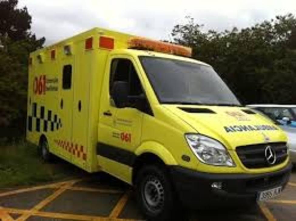 Las ambulancias son uno de los vehículos de reparación de urgencia