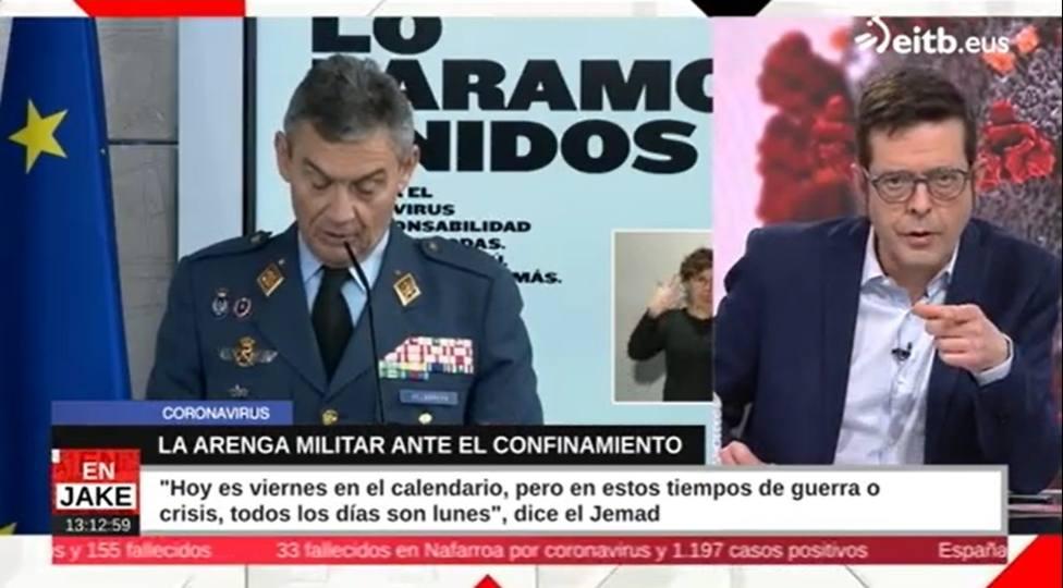 Resultado de imagen de el coronavirus, el general Miguel Ángel Villarroya