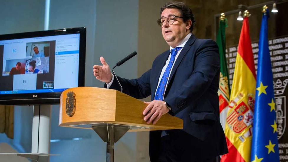 José María Vergeles, vicepresidente segundo y consejero de Sanidad y Servicios Sociales