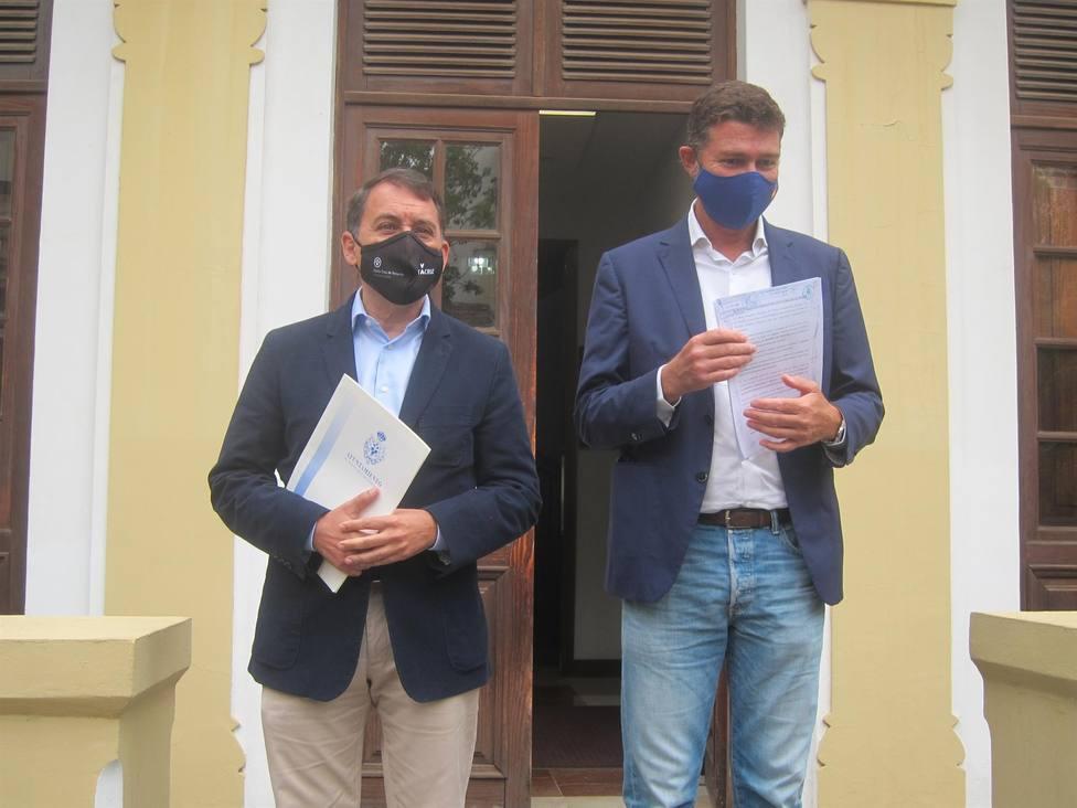 CC y PP presentan la censura para parar dar estabilidad y parar la involución de Santa Cruz
