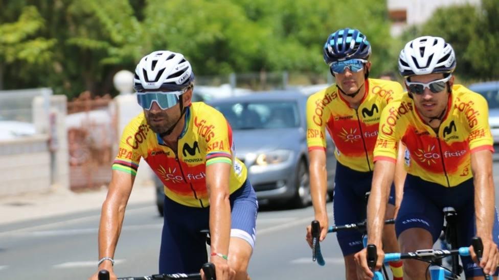 Ciclismo.- Alejandro Valverde: Estoy con ganas e ilusión, trataré de hacer el mejor año posible