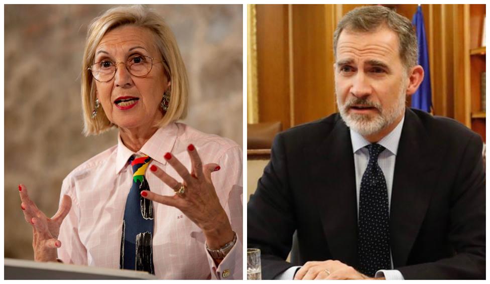 """Rosa Díez tras los incidentes registrados en la visita de los Reyes a Cataluña: """"Eso es lo que importa"""""""