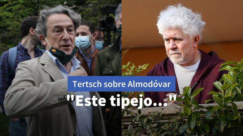 Hermann Tertsch estalla por las declaraciones de Pedor Almodóvar: Este tipejo...
