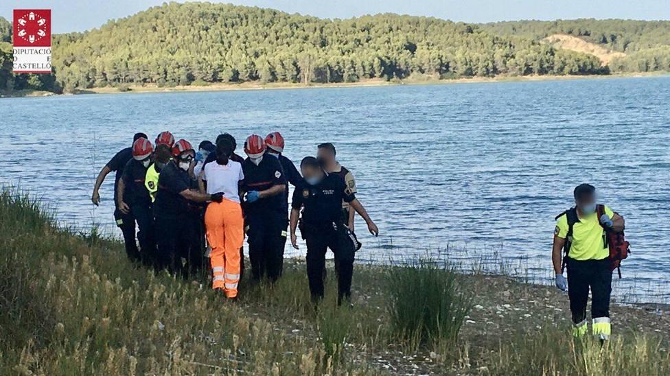 La menor fue rescatada del agua por un bañista