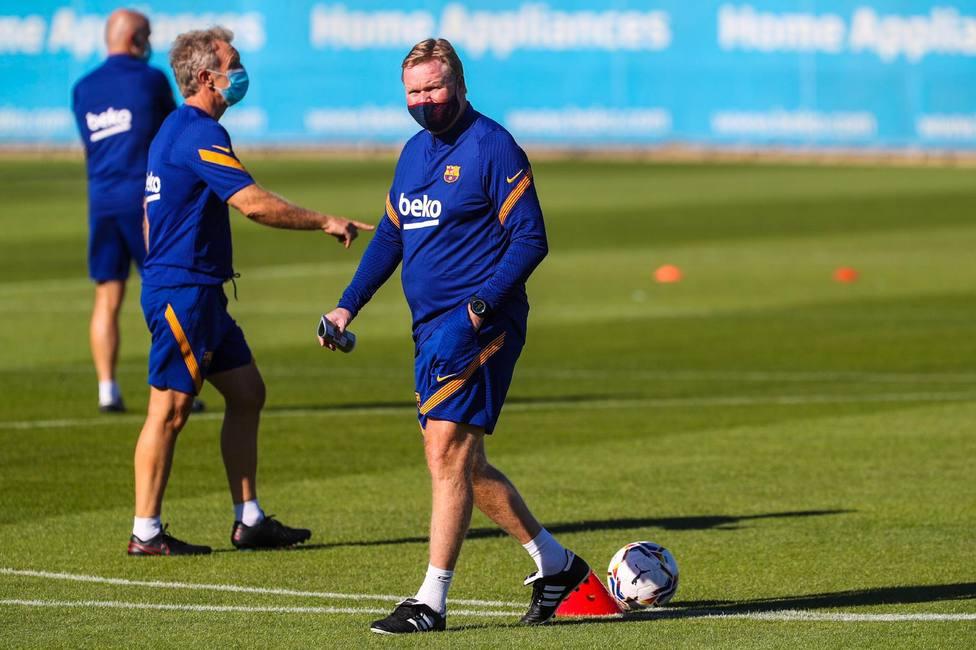 Ronald Koeman, entrenador del Barcelona (@FCBarcelona)