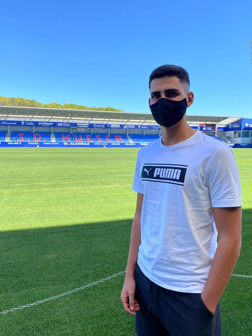 Lajarín nuevo jugador de la SD Huesca DH