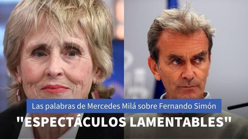Mercedes Milá habla sin pelos en la lengua sobre Pedro Sánchez y Fernando Simón