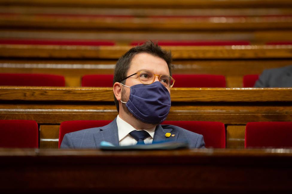 Aragonès advierte que la financiación sanitaria que recibe Cataluña es insuficiente