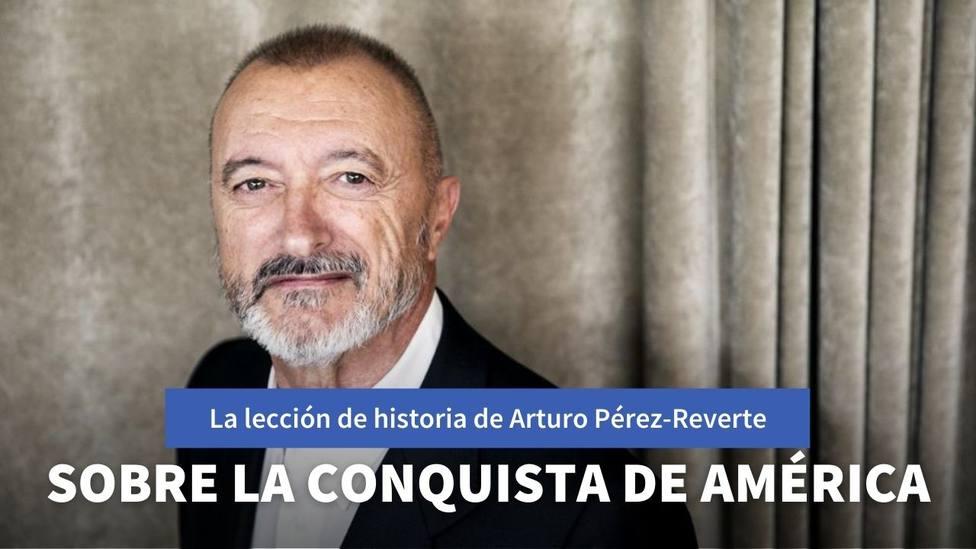 La lección de historia de Pérez-Reverte sobre el descubrimiento de América y sus consecuencias