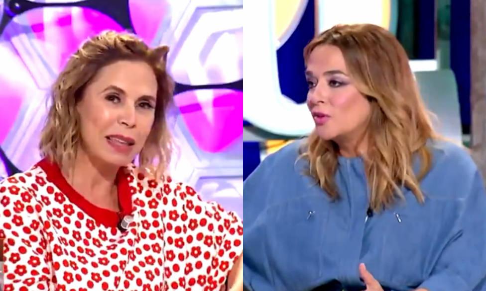 Ágatha Ruiz de la Prada y Toñi Moreno en Un año de tu vida