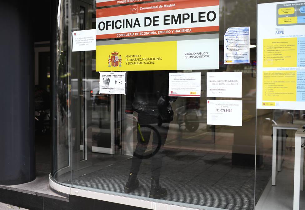 Oficina de Empleo en Madrid (España