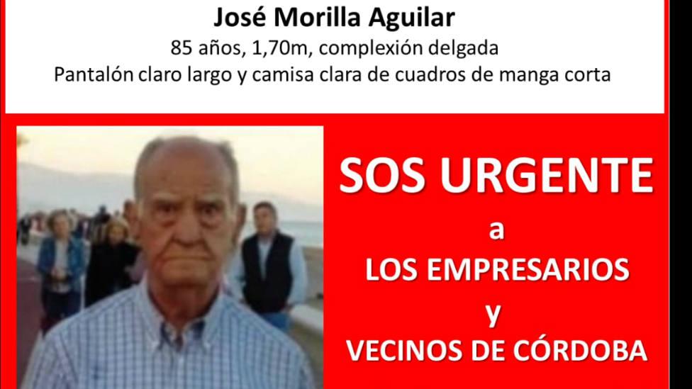 Localizan sin vida a José Morilla, el hombre desaparecido en Córdoba capital en agosto