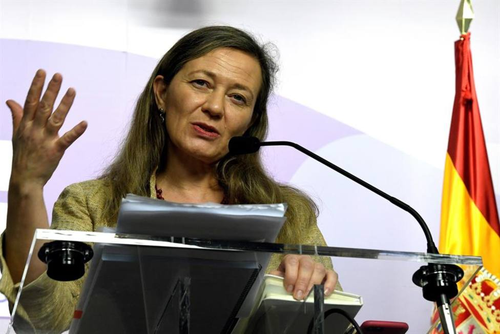 La delegada del Gobierno contra la Violencia de Género Victoria Rosell