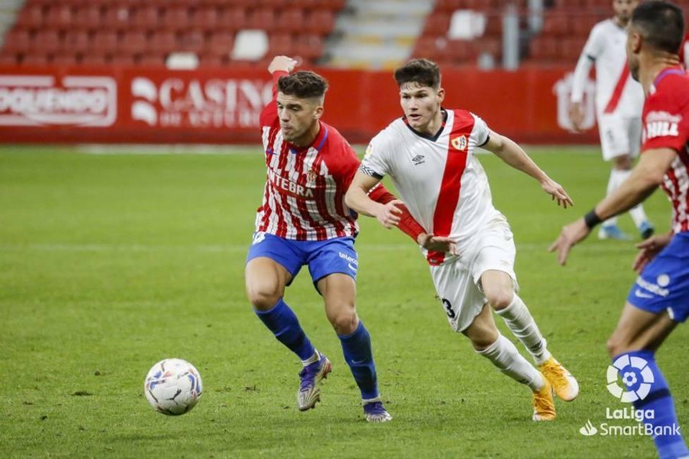 Nacho Méndez se lesionó en el partido contra el Rayo Vallecano