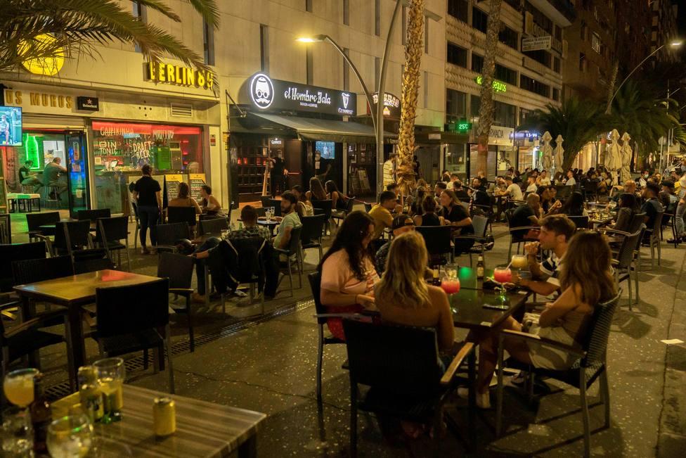 terrazas bares restaurantes santa cruz tenerife