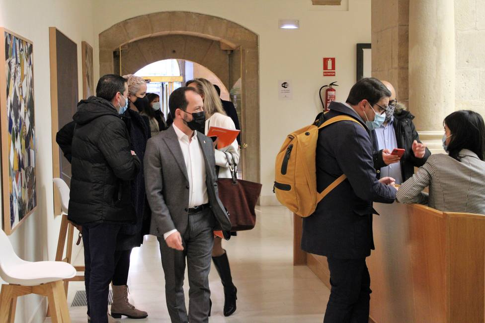 Baena anuncia la enmienda a la totalidad de Cs a los Presupuestos 2021 de La Rioja