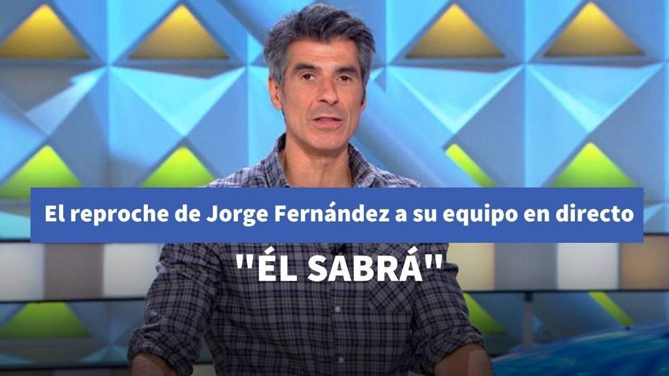 El reproche de Jorge Fernández a su equipo tras este detalle en 'La ruleta de la suerte'
