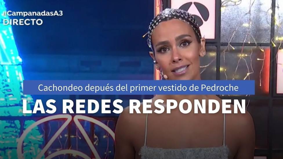 Cachondeo tras conocerse el primer vestido de Cristina Pedroche durante las Campanadas de Antena 3