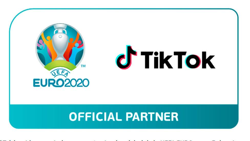 TikTok, plataforma global de la Eurocopa 2020