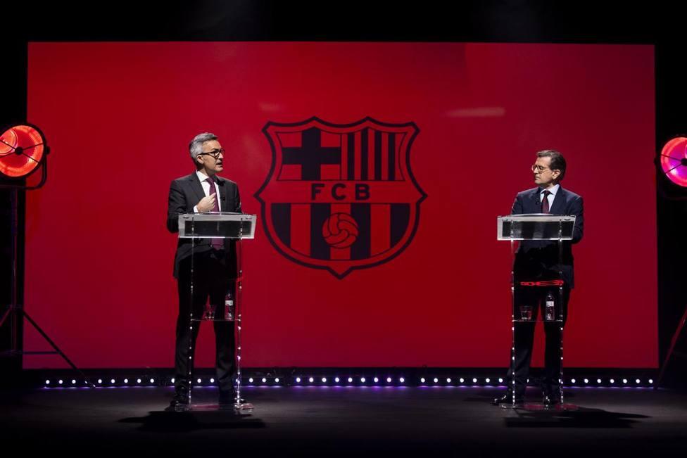 Font y Freixa celebran en BarçaTV el segundo debate sin Laporta