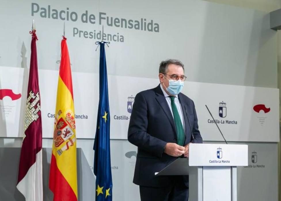 Jesús Fernandez Sanz. Consejero de Sanidad de C-La Mancha