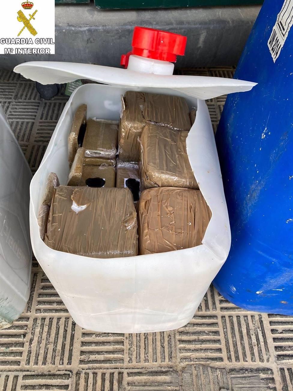 Cádiz.-Sucesos.- Detenidas dos personas en El Puerto que pretendían alijar 860 kilos de hachís por el río Guadalete