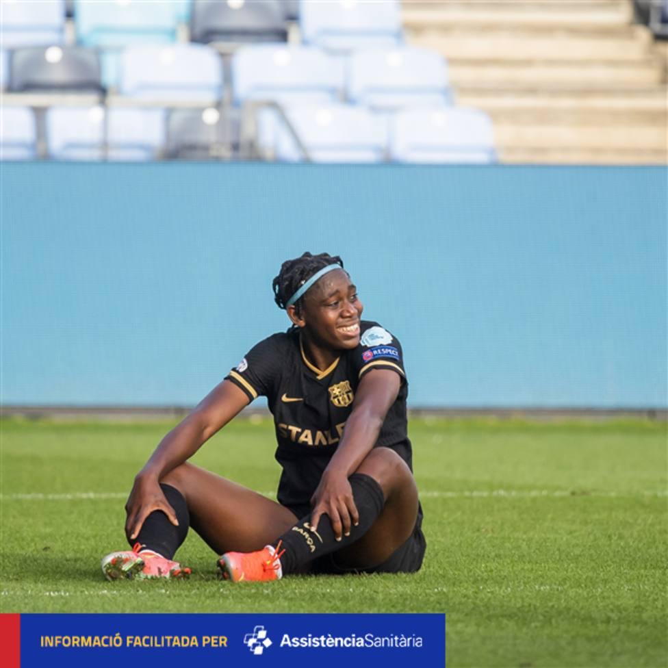Oshoala se opera del pie y se espera que esté disponible para semifinales de Champions
