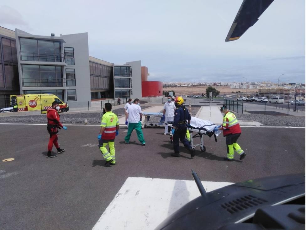 Dos pescadores fallecen al caer al mar en Fuerteventura