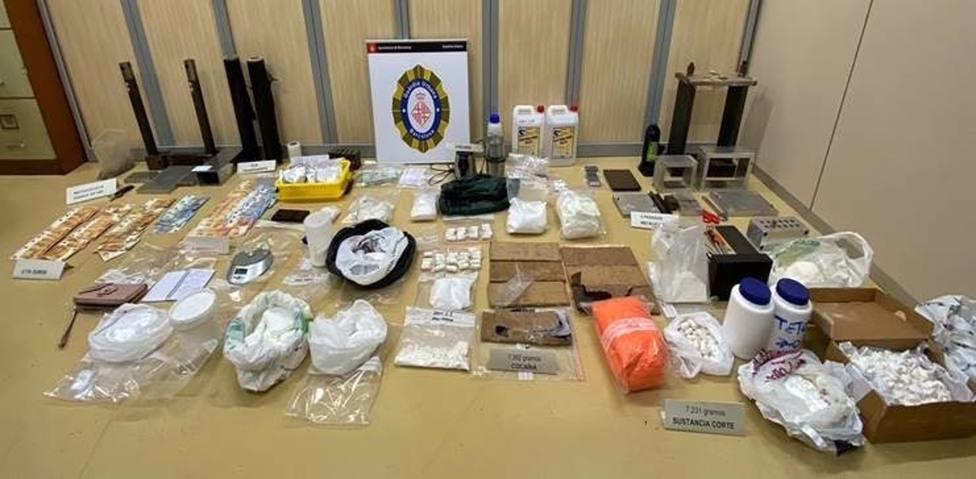 Sucesos.- La Guardia Urbana interviene más de 7 kilos de cocaína en Barcelona