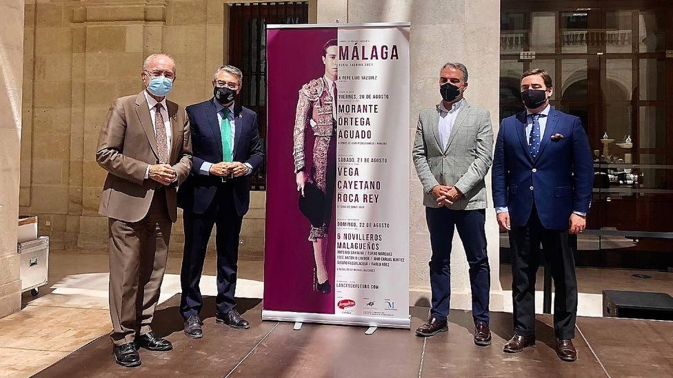 Acto de presentación de la feria taurina de Málaga 2021