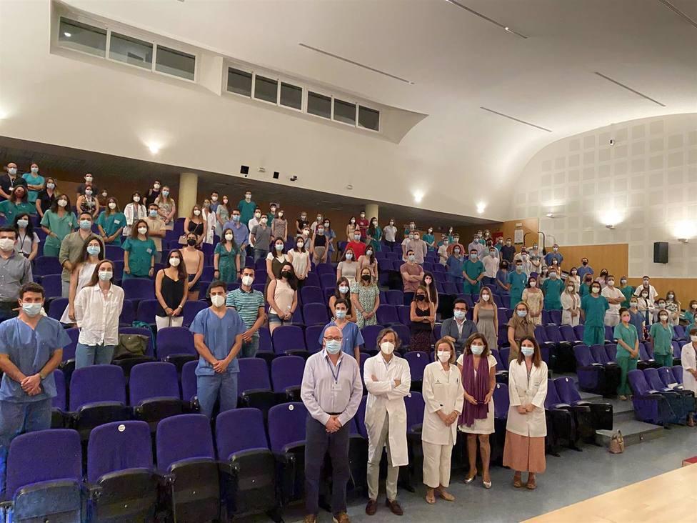 El Hospital Reina Sofía recibe a los 110 nuevos Especialistas Internos Residentes