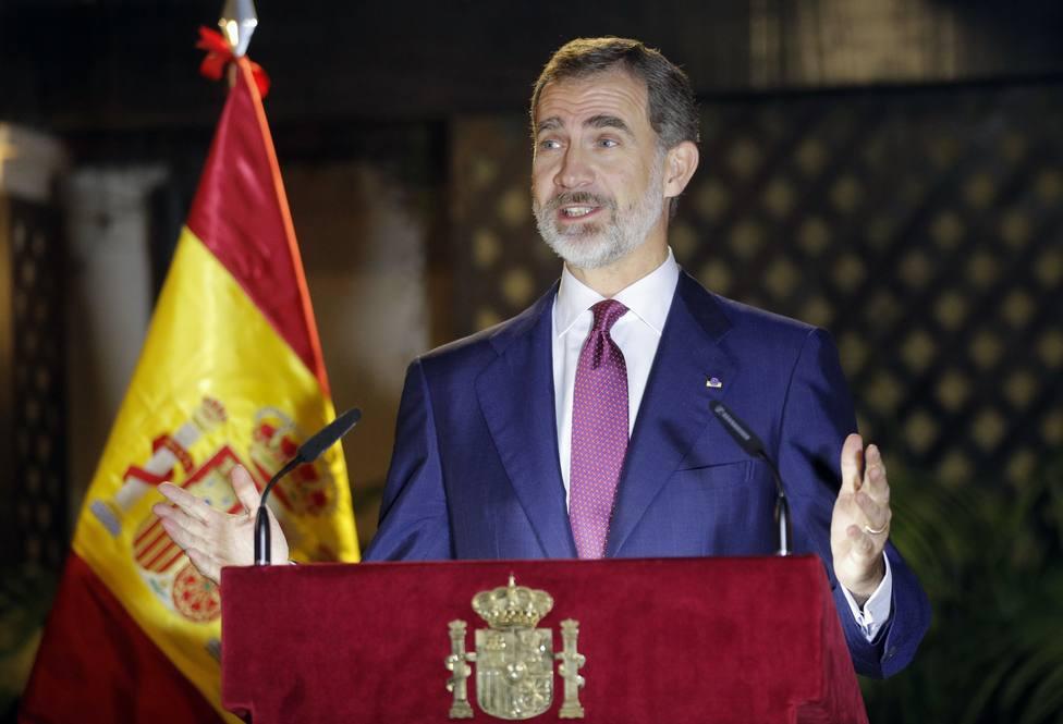 Felipe VI viajará a Perú para asistir a la investidura de Pedro Castillo