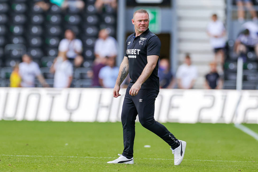 FOOTBALL - FRIENDLY GAME - DERBY COUNTY v MANCHESTER UNITED