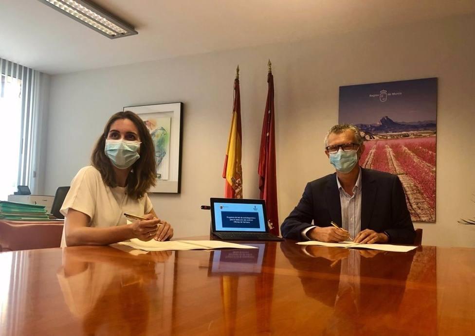 Cvirus.- Las farmacias de la Región notificarán al SMS los positivos que detecten a través de los tests de antígenos