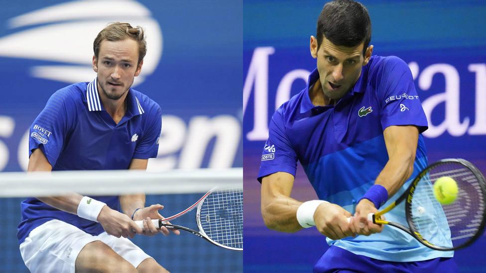 Medvedev y Djokovic, finalistas del US Open