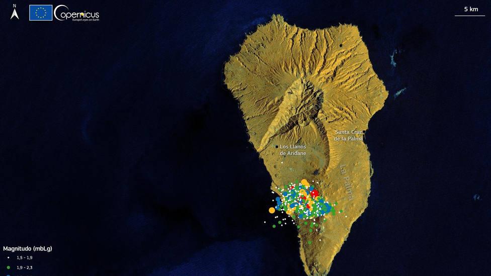 La Palma acumula acumula ya más de 20.650 terremotos
