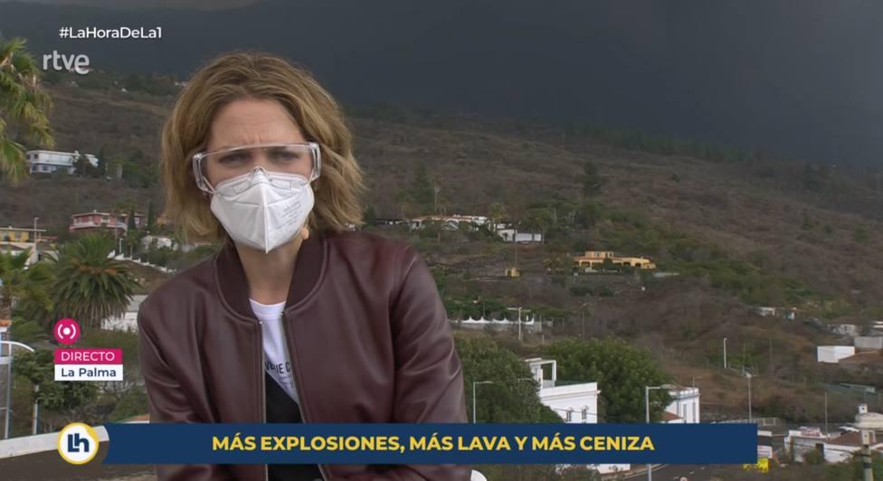 La declaración de intenciones de Silvia Intxaurrondo en La Hora de la 1 desde La Palma: Es un orgullo