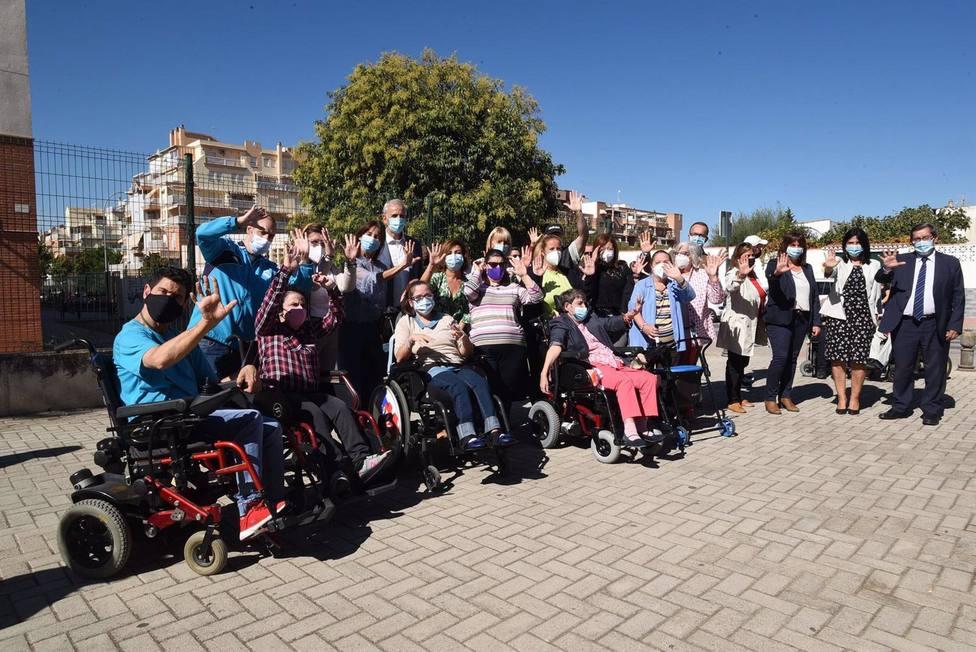 La Diputación celebra con Aspace el Día Mundial de la Parálisis Cerebral