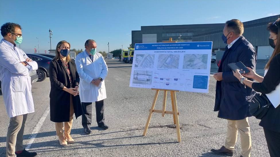 Ethel Vázquez presenta las nuevas inversiones en el zona de Urgencias del HULA