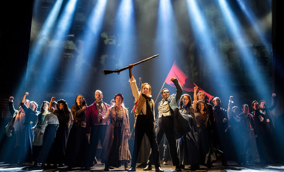 Imagen del musical Los Miserables. Archivo