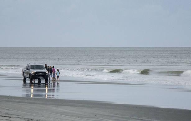 Florence llega a las costas de Carolina del Norte