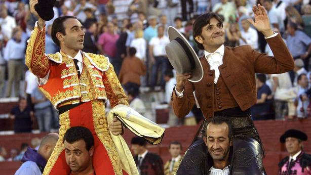 Diego Ventura, Ponce y Roca Rey bilaketarekin bat datozen irudiak