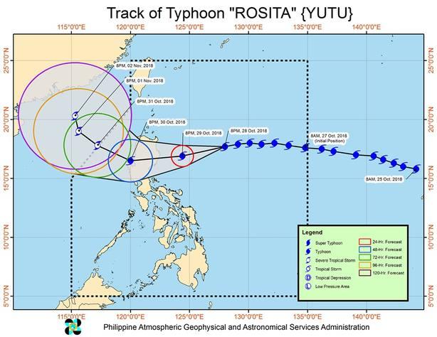 El paso del Rosita por Filipinas deja casi 30 millones de euros en daños materiales, confirma el Gobierno