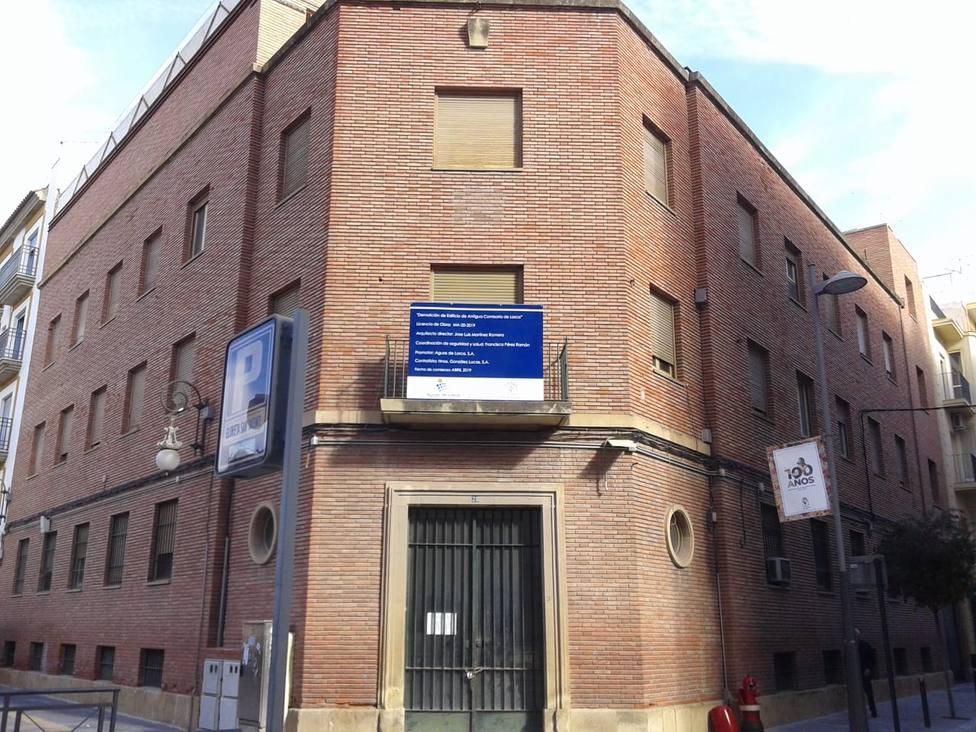 La vieja comisaría de Policía Nacional será derribada la próxima semana